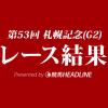 【札幌記念結果2017】サクラアンプルール重賞初勝利!