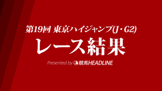 【東京ハイジャンプ結果2017】オジュウチョウサン大差で圧勝!