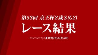 【京王杯2歳S結果】タワーオブロンドン2馬身差をつけ圧勝!