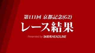 【京都記念結果2018】クリンチャー優勝!