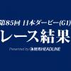 【日本ダービー結果2018】ワグネリアン優勝!福永騎手、悲願のダービー初勝利!