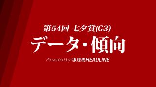 七夕賞(2018)の予想オッズと過去データから傾向を分析!