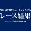 【朝日杯FS結果2018】アドマイヤマーズ優勝!