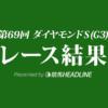 【ダイヤモンドS結果2019】ユーキャンスマイル重賞初勝利!