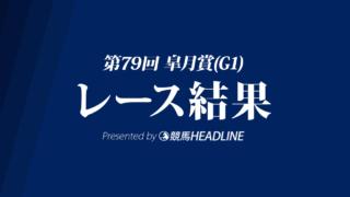 【皐月賞結果2019】サートゥルナーリア優勝!