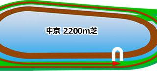 中京競馬場 芝2200m