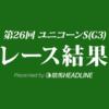 【ユニコーンS結果2021】スマッシャーが重賞初制覇!