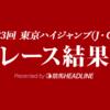 【東京ハイジャンプ結果2021】ラヴアンドポップが勝利!前走東京ジャンプSに続いて重賞連勝